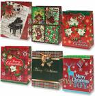 Gift Boutique Small Christmas Gift Bags Bulk Assortment with Handles and Tags 12