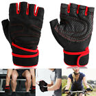Weight Lifting Gloves Men Training Gym Workout Bodybuilding Fitness Cycling