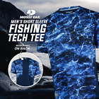 Mossy Oak Short Sleeve Vented Fishing Tech Tee for Men