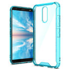 For LG K40/Xpression Plus 2/Solo TPU Bumper Clear Hard Case Cover+Tempered Glass
