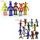 Five Nights At Freddy's FNAF Action Figures Toy ---5 PCS or 12 PCS as you choose