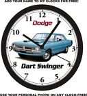 1970 DODGE DART SWINGER 340 WALL CLOCK-Free USA Ship-Plymouth $55.99 USD on eBay