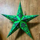 Christmas Lights, Star Paper Lanterns, MULTI COLORS, Party Decor, Holidays