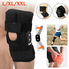 Adjustable Hinged Knee Patella Support Brace Sleeve Wrap Cap Stabilizer Sports