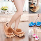 Home Plush Slippers Retro Savage Slippers Big Feet Warm Cotton Slippers New