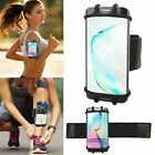 For iPhone 11 X/XS/8 Plus Armband Case Sport Running Jogging Pouch Holder Cover