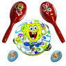 More images of Egg Shakers Maracas Tambourine Spongebob Wooden Percussion Set In Gift Case