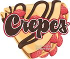 Crepes DECAL Choose Your Size French Food Truck Concession Sticker