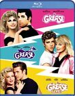 THE GREASE COLLECTION New Sealed Blu-ray Grease + Grease 2 + Grease Live