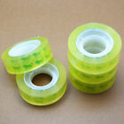 12Rolls 12mm*30m Clear Transparent Tape Sealing Packing Stationery School O C8O1