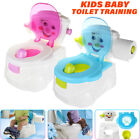 2 In 1 Kid Baby Toilet Trainer Child Toddler Potty Training Seat Chair Boy  image