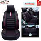 PU Leather Car Seat Cover Full Set Accessories Fit for Dodge Charger Durango $242.94 CAD on eBay