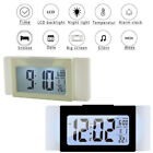 LED Desk Clock Alarm Clock Temperature Display Digital Light Sensor Home Decor