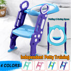 Toilet Chair Kid Potty Training Seat with Step Stool Ladder for Child Toddler US image