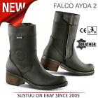 Falco Ayda 2 Motorcycle / Motorbike Women's Leather Boots│CE Approved│All Sizes