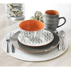 Viggo 16 Piece Stoneware Dinnerware Set, Service for 4