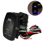 12V24V 5 Pin ONOFF LED Rocker Switch & Relay Fuse Wiring Harness Loom Kit    //
