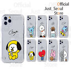 BTS BT21 Hangout Cutie Soft Clear Phone Case Cover Official MD+Freebie+Tracking