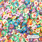 Mix Mushroom Pig Soft Polymer Clay Filler 20g/Pack,Clay Charms DIY Nail Bows image