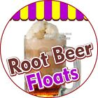 Root Beer Floats DECAL Choose Your Size Concession Food Truck C Sticker