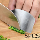 Kitchen Finger Hand Protector Guard Stainless Steel Chop Slice Shield Cook Tool*