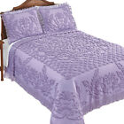 Exquisite Chenille Bedspread with Fringe Border image
