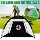1/2/3M Golf Practice Driving Net System Range Aid Training Cage Chipping Target