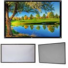 HD Projector Screen 16:9 Home Cinema Theater Projection Screen 60''~120''