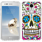 for LG Tribute Dynasty/Empire(Clear) Slim Flexible TPU Skin Phone Case Cover-D