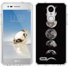 for LG Tribute Dynasty/Empire(Clear) Slim Flexible TPU Skin Phone Case Cover-D4