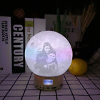 Personalized Photo Moon Light Gift For Women 3D Printed Lamp Bluetooth Speaker
