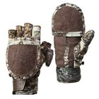 "Pop-Top Gloves - Mittens Men's Mossy Oak ""Mountain Country"" Various Size New!"