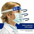 Safety Protective Clear Splash Proof Full Head-mounted Face Eye Shield Screen US