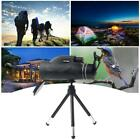 80X100 Zoom Optical HD Lens Monocular Telescope+ Tripod+Clip For Universal Phone image