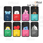 Official BTS BT21 Card Pocket Bumper Phone Case Cover+Freebie+Tracking Kpop