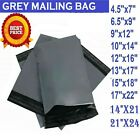 💙 STRONG GREY MAILING POST MAIL POSTAGE BAGS POLY POSTAL SELF SEAL ALL SIZES