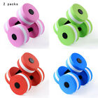 1 Pair Water Aerobics-Aquatic Dumbbell EVA Yoga Barbell Fitness Equipment USA image