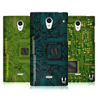 HEAD CASE DESIGNS CIRCUIT BOARDS HARD BACK CASE FOR SHARP PHONES