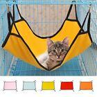 Four Hooks Pet Cats Hanging Hammock Soft Fabric Puppy Dog Cage Bed Sleep Rest US
