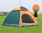 3-4 People Automatic Pop Up Tent Waterproof Fold Outdoor Camping Hiking
