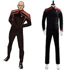 Star Trek Jean-Luc Picard Cosplay Costume Uniform Halloween Outfit Suit on eBay