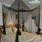 Mosquito Net Square Lace Folded Full Size Adults Camping Bedding Mesh Canopy New image