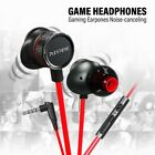 PLEXTONE G15 3.5mm Wired In-Ear Earphone Game Volume Control Headphone with Mic
