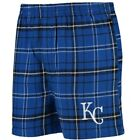 Kansas City Royals Concepts Sport Ultimate Flannel Boxer Shorts - Royal/Black on Ebay