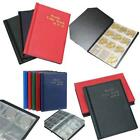 Collection Storage Money Penny Album Book Holders Pocket Case Coin Coins Q