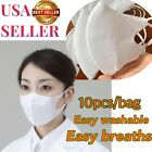 NEW 10PCS FACE MASK REUSABLE, WASHALBE, USE WITH FACE SHIELD, PROTECT  FROM GERM