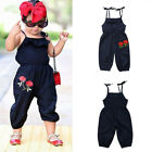 Kyпить Toddler Kid Baby Girl Clothes Strap Flower Romper Jumpsuit Summer Outfit Sunsuit на еВаy.соm