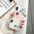 Colorful Flower Paint Soft Case Cover For iPhone 11 Pro Max XR 7Plus Series
