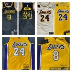NWT Men's Kobe Bryant Jersey Los Angeles Hollywood BLUE  8 throwback rookie on eBay