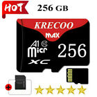 Krecoo Micro Memory Card C10 256GB 100MB/S TF Flash Card Camera Car Phone New